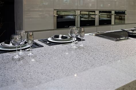 How To Clean Silestone Quartz Countertops by Silestone Quartz Counter Top In Quot Chrome Quot Countertops