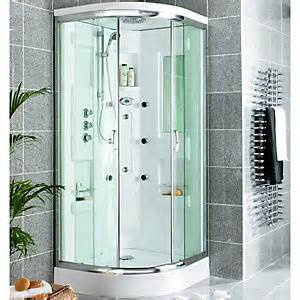 wickes quadrant shower cabin with monsoon fixed