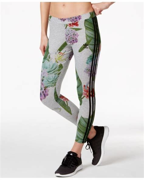 Adidas Flower Fastival Suitshirt Hoodie And Legging Print Compression adidas originals floral print in multicolor