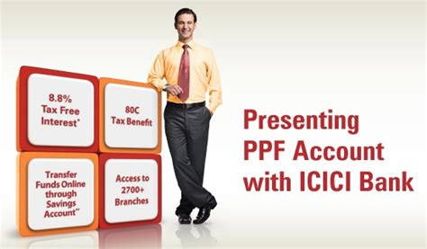 icici bank opening open ppf account in icici bank
