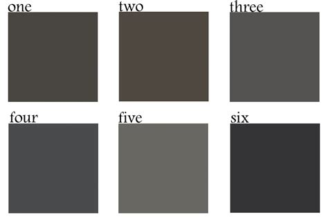 best charcoal paint colors bynum design