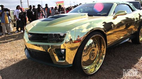 expensive cars gold incredible gold camaro central florida series doovi