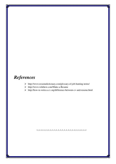 Resume Assignment by Assignment Resume