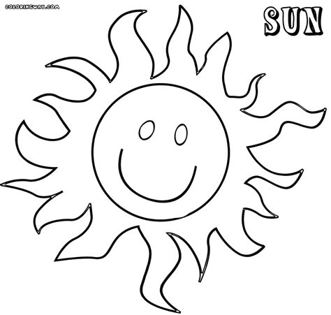 sun coloring page sun coloring pages coloring pages to and print