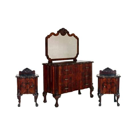 revival bedroom furniture 1910s chippendale venetian baroque revival bedroom set in carved walnut for sale at 1stdibs