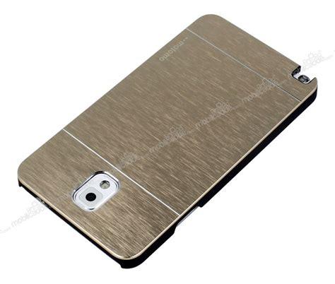 Motomo Metal Galaxy Note 3 motomo samsung n9000 galaxy note 3 metal gold k箟l箟f