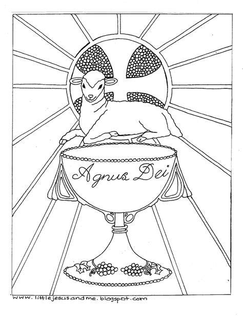 coloring page eucharist first communion coloring pages az coloring pages