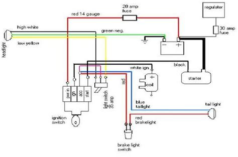 chopper circuit diagram wiring diagrams club chopper forums
