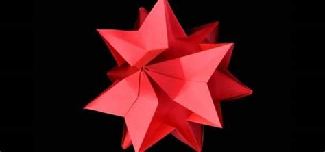 Pretty Origami - how to craft a pretty origami amaryllis kusudamas