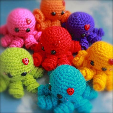 amigurumi octopus ravelry mini amigurumi octopus pattern by hearn