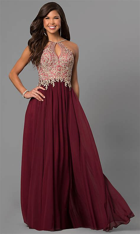 junior black long prom dress  beaded lace