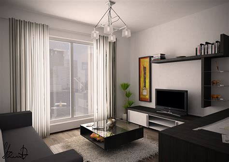 Flat Interior Design Architects Flat Interior Design On Behance