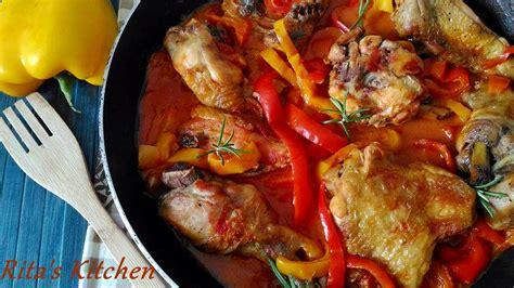 come cucinare il pollo con i peperoni ricetta pollo con i peperoni il pollo della quot sora lella