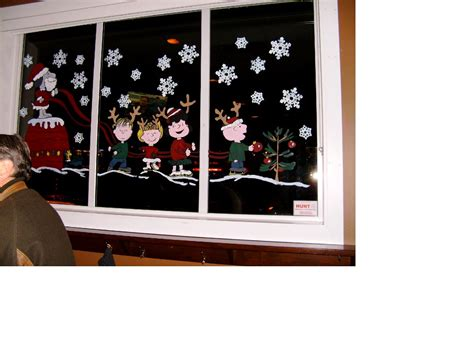 window painting for christmas brown window painting as you like it fraser valley cbell river