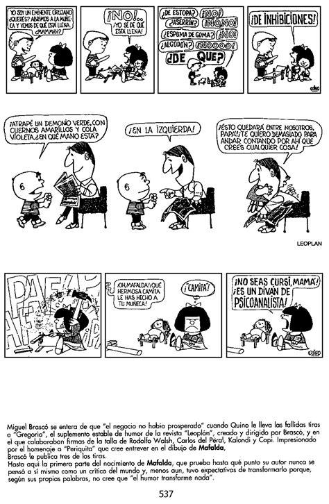 mafalda las tiras 8426418767 mafalda las primeras tiras humor
