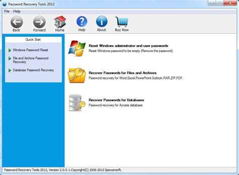 windows password reset special password recovery tools recover any lost password