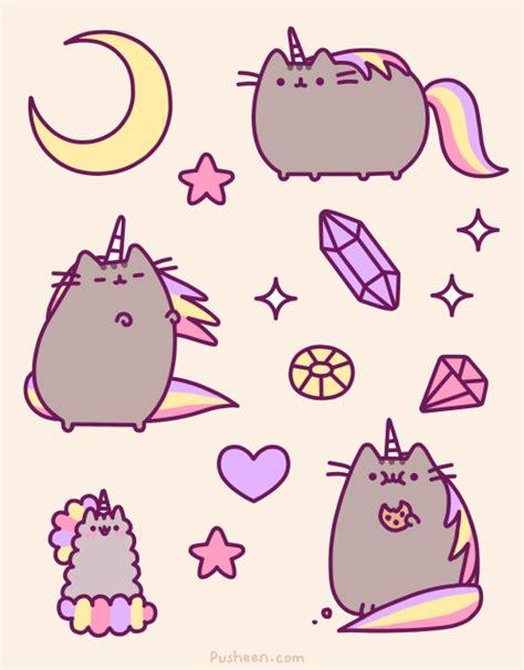 doodle god unicorn pusheen unicorn cat