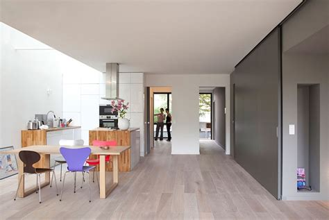 minimalist eco sustainable house charms with a green