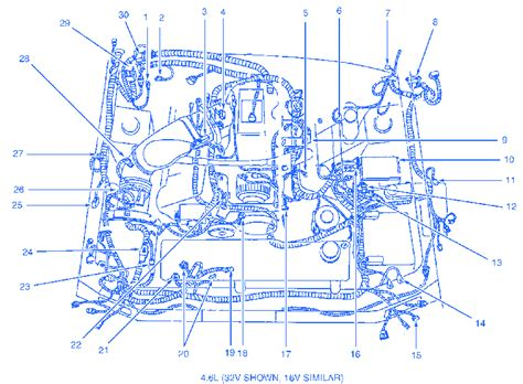 ford mustang gt 2000 electrical circuit wiring diagram