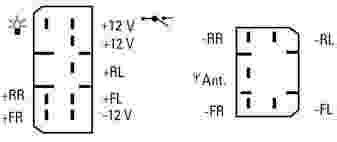 radio wiring diagram for 94 mitsubitshi mighty max 50