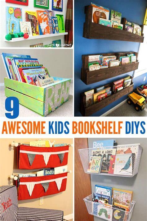 kids bedroom bookcase 9 awesome diy kids bookshelves kid bookshelves