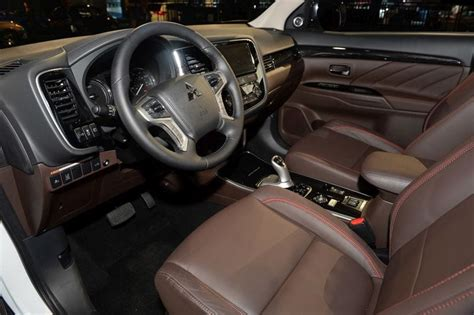 interior outlander 2017 mitsubishi outlander review price specs release