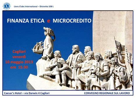 etica microcredito finanza etica e microcredito un convegno a cagliari