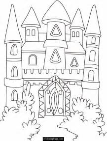 castle of color disney castle coloring pages coloring home