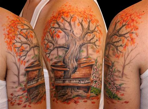 30 of the most amazing tree tattoos ever
