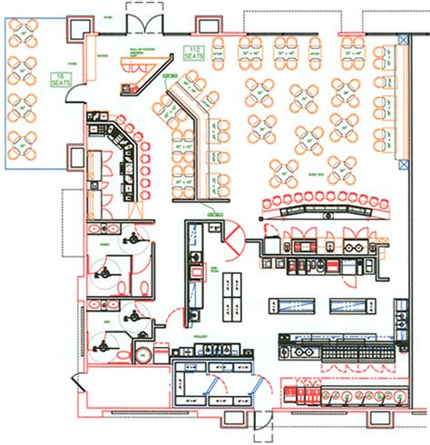 restaurant layout pics commercial kitchen designs layouts afreakatheart