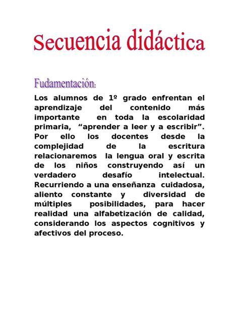 situacion didactica para fomentar la lectura en preescolar secuencia didactica texto instructivo