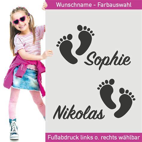 Aufkleber Baby Fussball by Aufkleber Fu 223 Abdr 252 Cke Geschwister Babyf 252 223 E Name F 252 223 E Fu 223