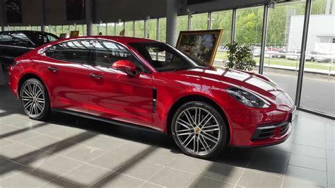 Porsche Panamera Red by обзор Porsche Panamera 4s 2017 Carmine Red порше панамера