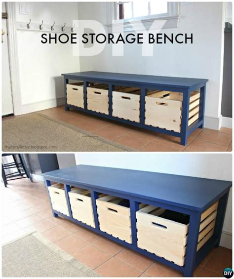 25 best ideas about small entryway organization on best 25 storage benches ideas ikea expedit storage bench