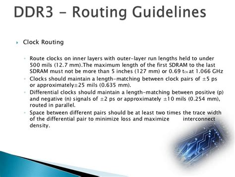 ddr layout guidelines micron pcb designer ddr3 routing guidelines