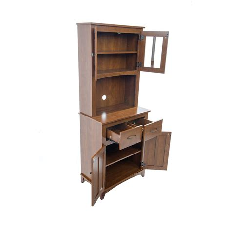 oak microwave stand with hutch kitchen microwave cart with hutch tall microwave cabinet