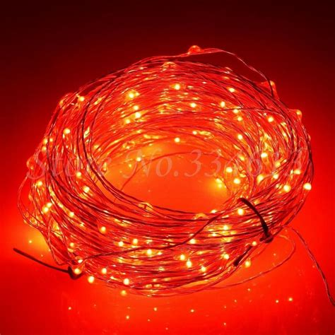 30m 300 Leds Cool White Light Silver Wire Outdoor String Lights Uk