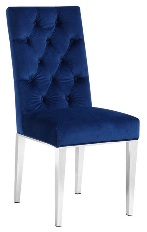 Parsons Dining Room Chairs by 8 Elegant Velvet Dining Chairs In Navy Blue Cute Furniture