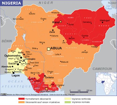 nigeria on a world map nigeria maps