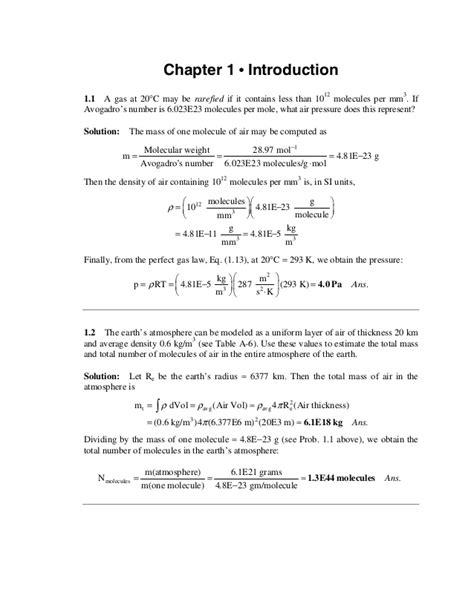 Solution manual fluid mechanics 4th edition - frank m. white
