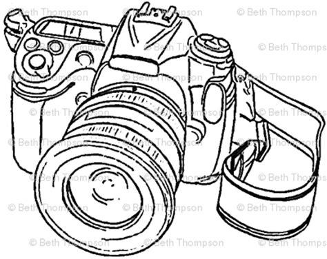 camera sketch wallpaper camera sketch wallpaper beththompsonart spoonflower