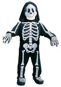 skeleton halloween costume child white skeleton costume
