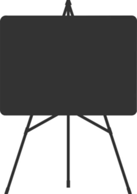 Standing Board Standing Frame Black Board Papan Tulis Mini white board silhouette clip at clker vector clip