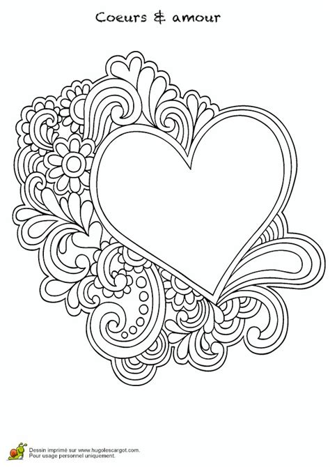 printable coloring pages for adults hearts heart 3 printable adult coloring pages pinterest
