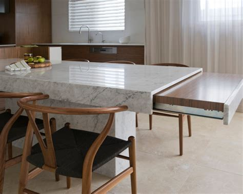 kitchen island with table extension dining table kitchen island dining table combo