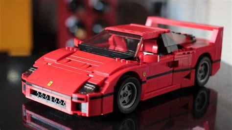 Lego Ferrari by Lego Ferrari F40 2016 Hands On Review By Car Magazine