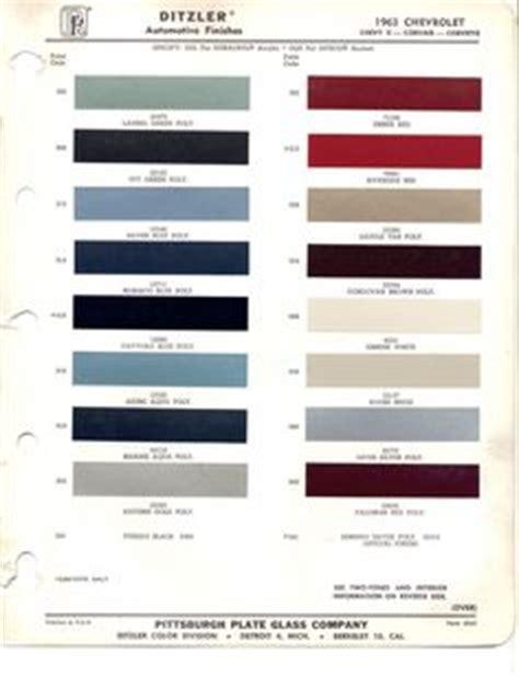 looking for paint code on 63 corvetteforum chevrolet 1978 chevrolet gmc truck paint chips color chart 78 73