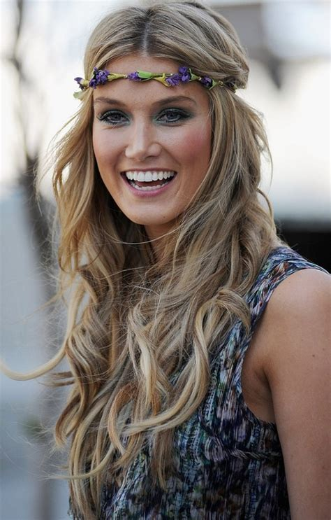 headband curly hairstyles top 17 delta goodrem hairstyles pretty designs