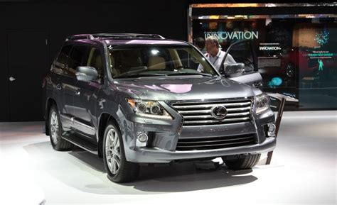 Why Are Ls So Expensive by Mildly Updated 2013 Lexus Lx570 Is Second Product To Wear