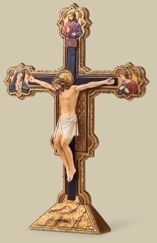 10 5 quot ognissanti table crucifix